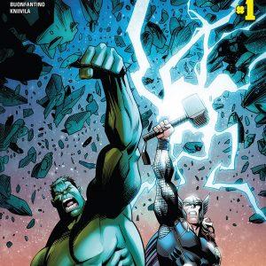 """کمیک بوک """"Thor vs Hulk"""""""